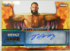 2013 TNA Impact Wrestling Live Matt Morgan SP Green Autograph # 28 / 50