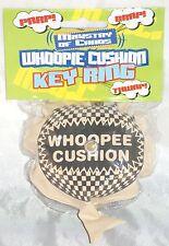 Whoopee Cushion Key Ring [ PARP!, BRAP!, THWAP! ] Self inflating