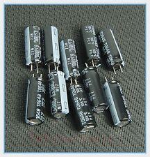 (10pcs) 1800uf 6.3v Rubycon Radial Electrolytic Capacitors 8x20mm Ultra Low ESR