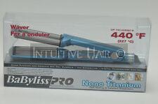 """Babyliss PRO Professional Nano Titanium Ceramic Sol Gel Barrels Waver 5/8"""" 440°F"""
