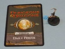 D&D Miniatures Male Halfling Barbarian #18/18 Dungeons Dragons Minis Heroes 2