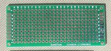 DIY Double-Side Plated Thru Prototype PCB Board : Lots of 6 : 3x7 CM,  30x70 mm