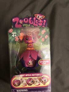 Zoobles #138 Pentagonia Collection RARE 2010 NEW Sealed Package Jaspurr