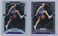 2019-20 PANINI PRIZM - KYLE GUY -(2) CARD RC / ROOKIE LOT - SILVER PRIZM + BASE