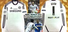 Chelsea Champions League Final 2012 Goalkeeper GK Jersey Shirt Petr Cech #1*RARE