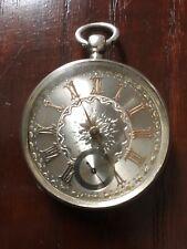 Antique Silver Waltham Pocket Watch For Spares Or Repair Hallmarked Cir 1882