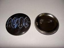 BADGE 56mm  AC DC   logo