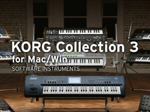 korg collection 3 ( Genuine Licence ) Includes New Triton And Prophecy
