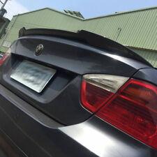 Carbon Fiber BMW E90 3-Series V Type Boot Trunk Spoiler Rear Wing 325i 328i 335i