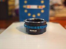 Novoflex NEX/NIK Lens Mount Adapter Nikon Lens to Sony E Mount Camera