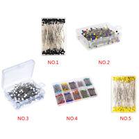 100Pcs Pin Round Needle Pearl Needle Jewelry Pins Wedding Diy Beading Needles