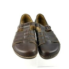 BIRKENSTOCK Madeira Fisherman Sandals Shoes 40  W 9/ M 7 Brown Leather Germany