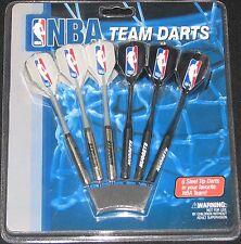 Denver NUGGETS ~ Steel Tip Darts  Set of 6 Darts