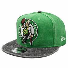 Boston Celtics RUGGED XL LOGO Snapback 9Fifty NBA Hat - Green/Black
