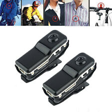 2PCS Perfect MD80 Mini DV DVR Sports Bike Helmet Camera Spy Video Recorder Black