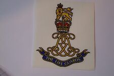 """2 X  THE LIFE GUARDS REGIMENT  STICKERS  4"""" BRITISH ARMY USA  MILITARY INSIGNIA"""