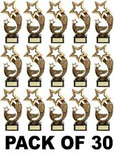 PACK OF 30 BRAND NEW RUGBY LEAGUE UNION RISING STAR TROPHIES 17.5cm  B1 FG1002T