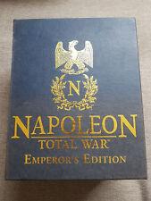 PC Napoleon Total War Emperor's Edition inc Statue - New but see Description
