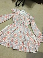 Liz Lisa Kawaii Lolita Japan Vintage Pink And Blue Flower Dress