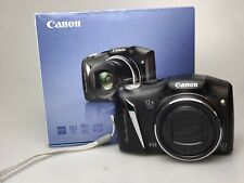Canon PowerShot SX130 IS 12.1MP Digital Camera - Black (T)