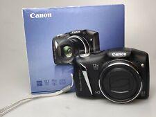 Canon PowerShot SX130 IS 12.1MP Digital Camera - Black (T)