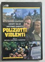 Poliziotti Violenti DVD Ancora Sigillato Editoriale Henry Silva Antonio Sabato N