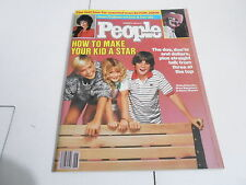NOV 12 1984  PEOPLE magazine (NO LABEL) UNREAD - HOW TO MAKE YOUR KID A STAR