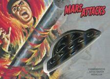 Mars Attacks The Revenge Silver Medallion [15] Card CM-HT The Human Torch