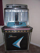 Rock-Ola Jukebox Model 1478 – 1960 Silver Anniversary (including records)