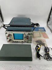 Vintage Tektronix 465 Oscilloscope With Manual Probes Accessories Read Desc