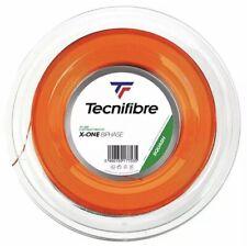 TECNIFIBRE X-ONE BIPHASE SQUASH STRING - 1.24MM - 200M REEL - ORANGE - RRP £350
