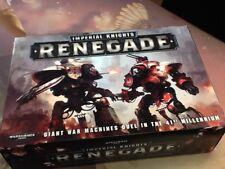 40k Warhammer Imperial Knights Renegade NIB