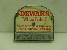 """Vintage Dewar's Tape Measure Made In usa promotional  1/4"""" scotch whisky"""