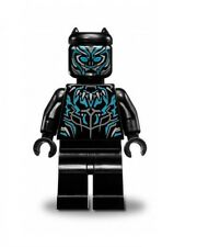 LEGO MARVEL SUPER HEROES AVENGERS MINIFIGURE BLACK PANTHER BLUE 76099