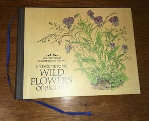 READERS DIGEST WILD FLOWERS OF BRITAIN 1ST EDITION 1984 BOOK