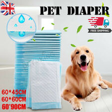 More details for 50-200pcs extra large puppy training wee pee toilet pads for pet - 3 sizes uk