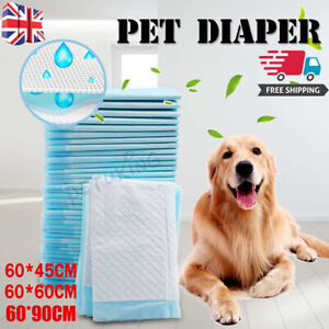 50-200PCS Extra Large Puppy Training Wee Pee Toilet Pads for Pet - 3 Sizes UK