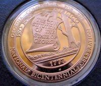 South Carolina Bicentennial Medal Franklin Mint Bronze PROOF