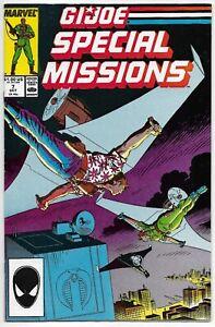 G.I. Joe Special Missions #7 MARVEL Comics 1987 Hama Trimpe Sharen VFN