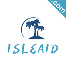 ISLEAID.com 7 Letter .com Catchy Brandable Premium Domain Name for Sale Godaddy