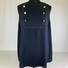 Next ladies Blue Summer Tunic Top Blouse AD/599 size 20 BNWT