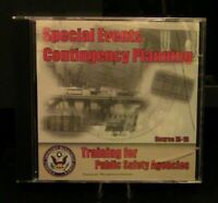 Public Safety Training: FEMA Special Events Contingency Planning CD