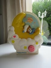 ♥  Ancien Jouet Musical Teddy Beddy Bear Fisher Price Vintage Année 1985