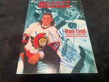 Beckett Magazine Autographed by Radek Bonk Certificate by All Sports