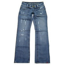 EDC By Esprit Jeans - CRAFT - Gr 34 Regular / ca. W25 L32 - DESTROYED Hüftjeans