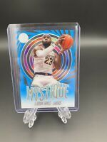 Lebron James Blue Mystique Acetate 2019-20 Panini Illusions Lakers
