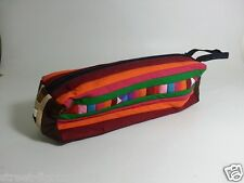 Thai Handmade Fabric School Pencil Case Stationery Storage Organizer Pen Bag