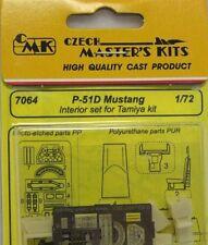 CMK 1/72 P-51D Mustang interior Set para TAMIYA # 7064