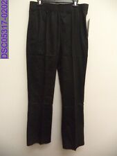 Nwt Chef Works Womens Essential Baggy Chef Pant Black Size Large
