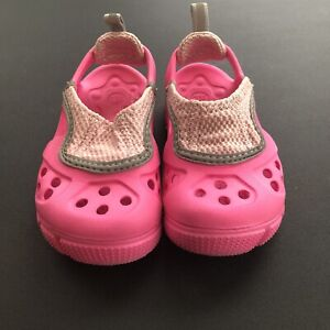 Crocs Micah II Pink Water Shoes Size C6: toddler Water Shoes.